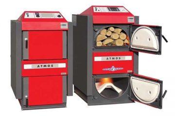 centralne peči na drva