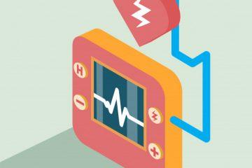 Cena defibrilatorja