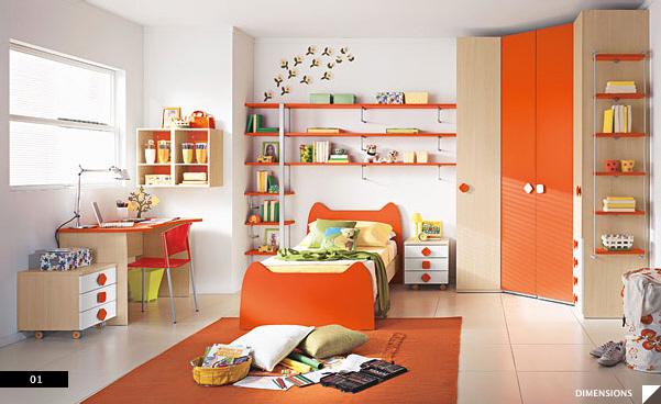 Mladinska soba za fante je narejena po posebnih kriterijih