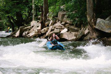 Soca River rafting