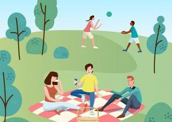Piknik prostor za vašo zabavo leta