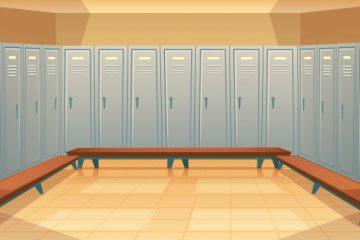 Kovinske garderobne omarice
